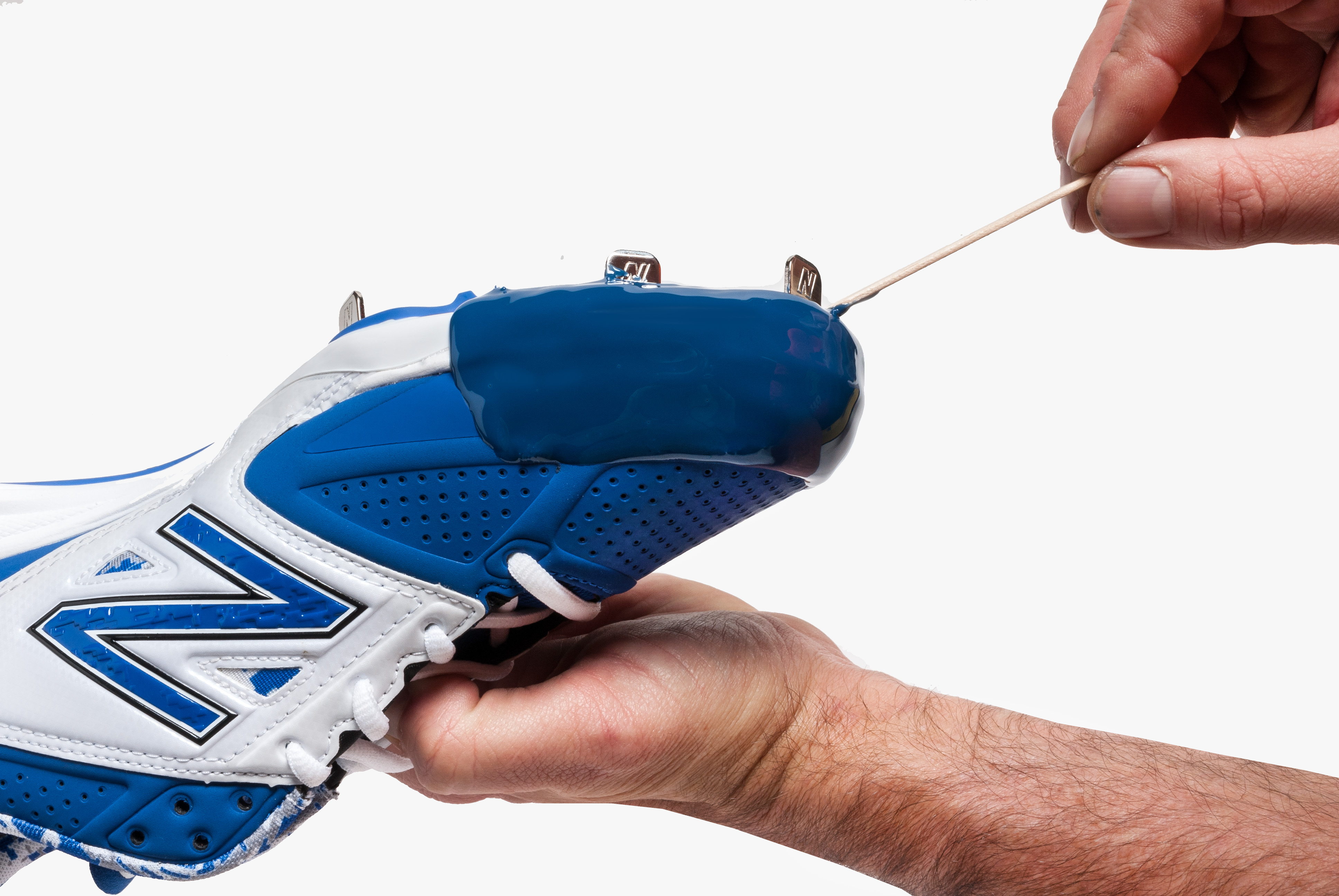 de84a2c12 Instructions for a Standard Tuff Toe Pro for Baseball Pitcher Cleats ...