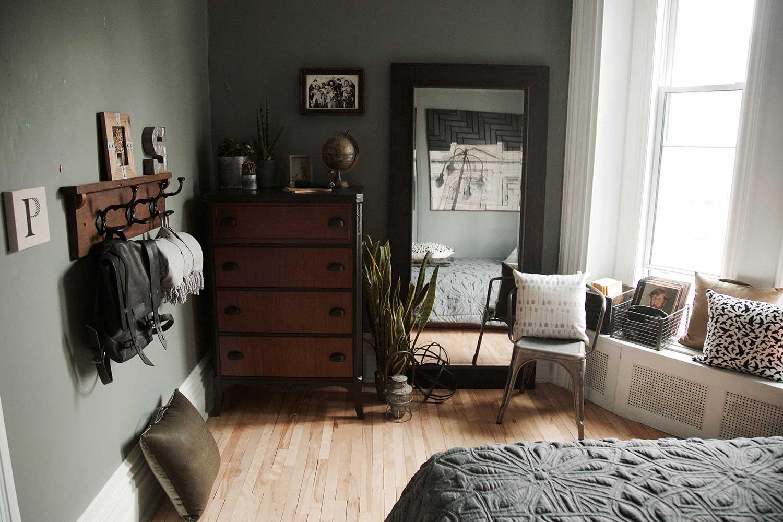 Chambre A Coucher De Style Industriel – Bigarade
