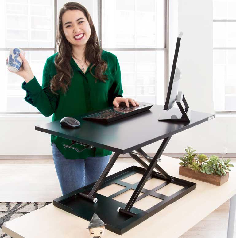 X-Elite Pro Sit Stand Desk Converter