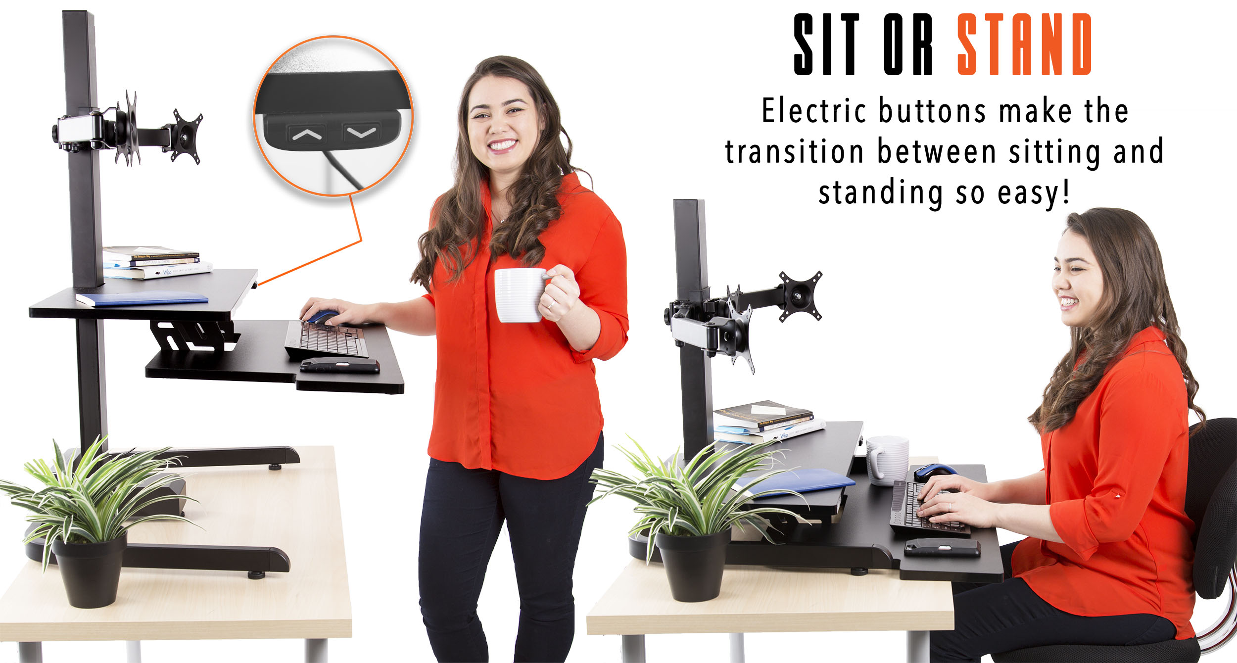 Sit or Stand Techtonic Standing Desk