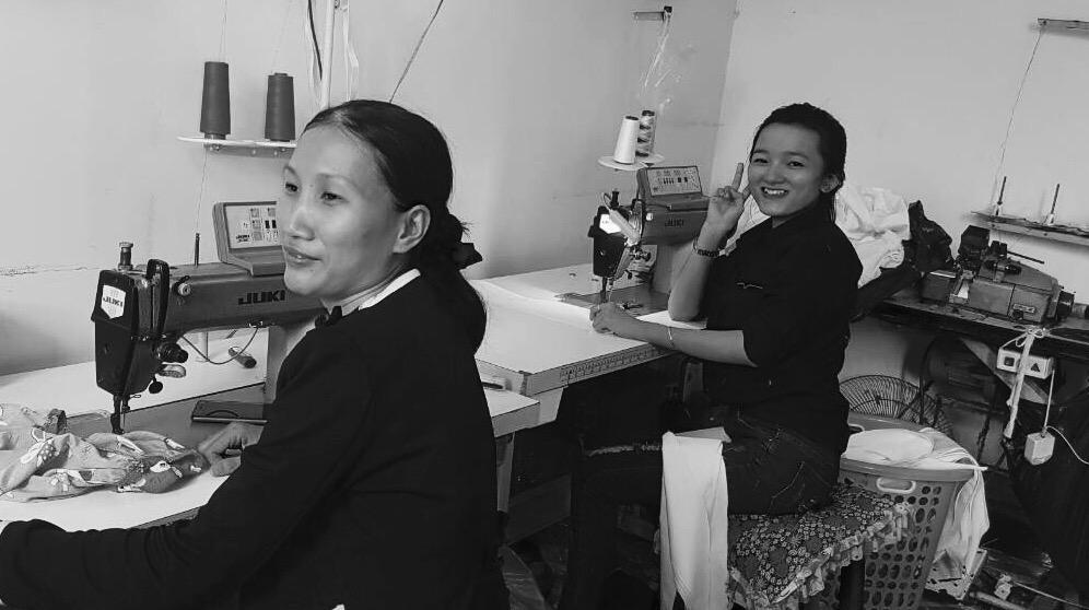 Cross Border Wear's seamstress team from Vietnam