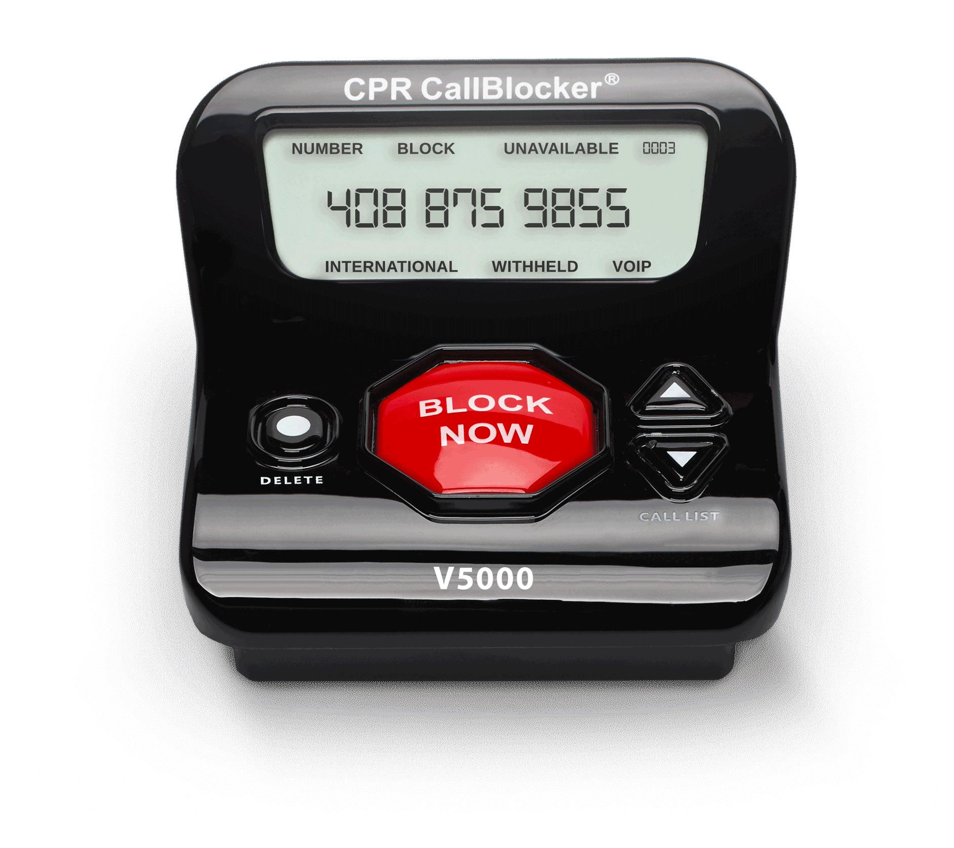 Call blocking device | jamming memory recall gmc
