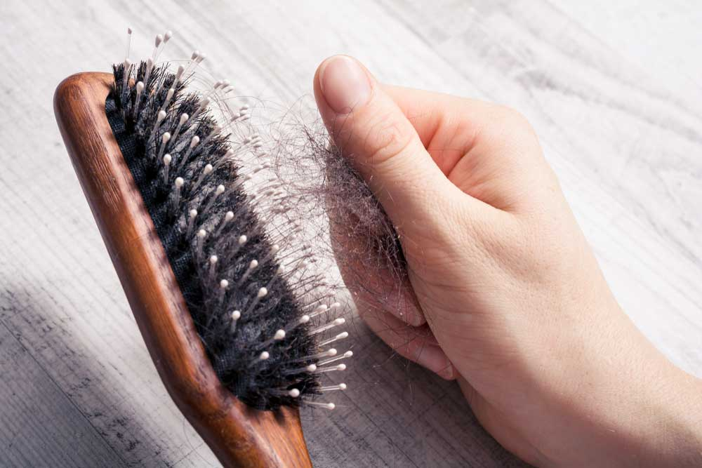 how to stop hair falling out
