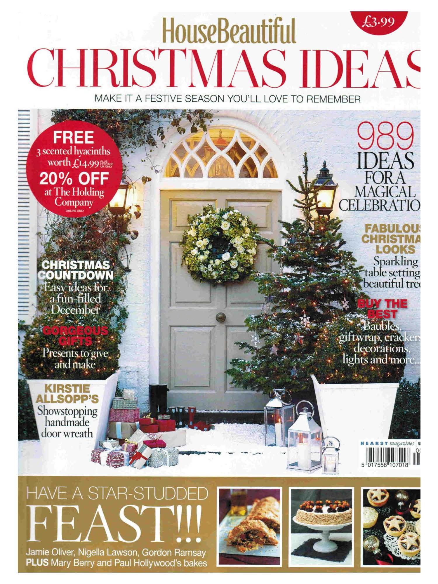 dog, dogs, style, magazine, press, editorial, house beautiful, christmas, house, home