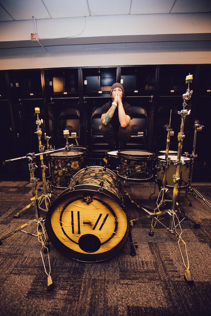 josh dun twenty one pilots sjc custom drums. Black Bedroom Furniture Sets. Home Design Ideas