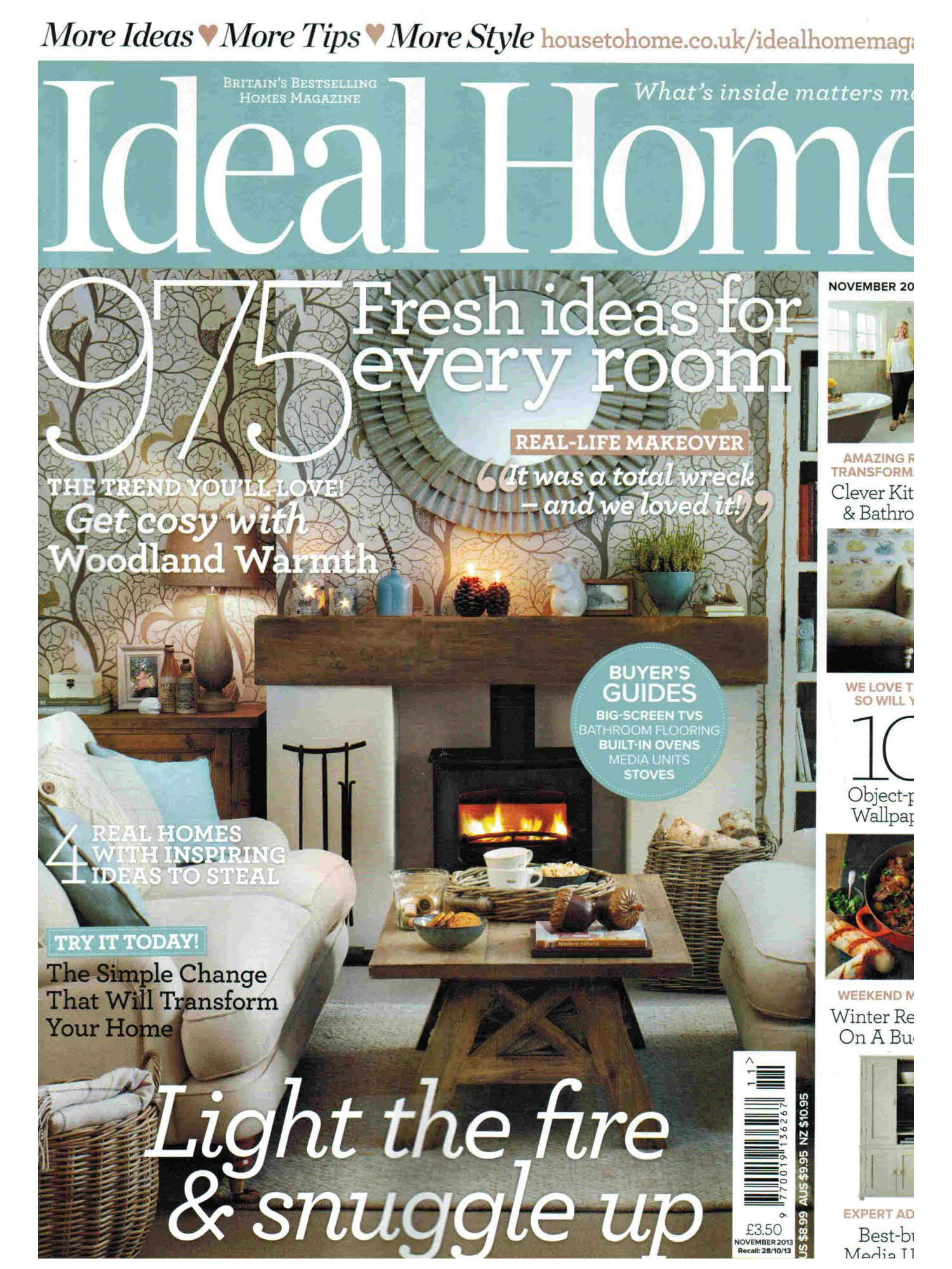 ideal home, dog, dogs, style, magazine, press, editorial