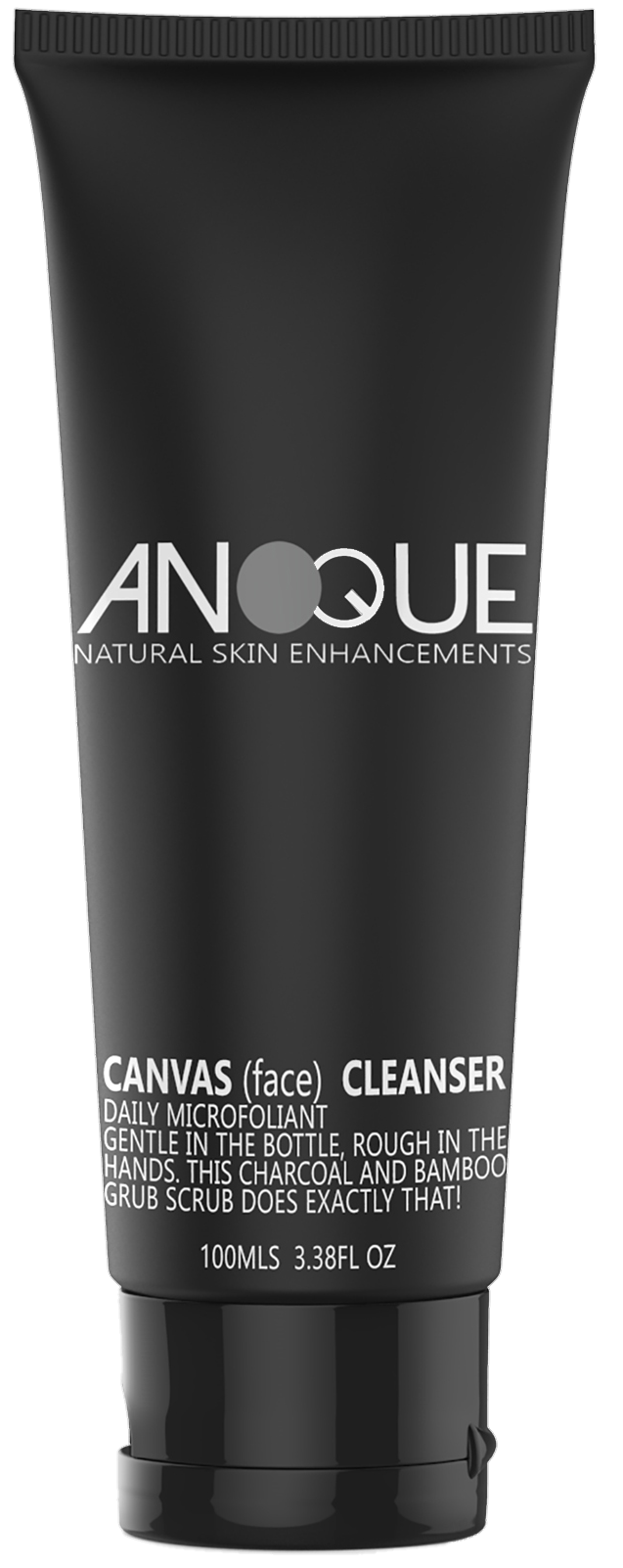 Anoque - Mens Charcoal Face Cleanser & Scrub
