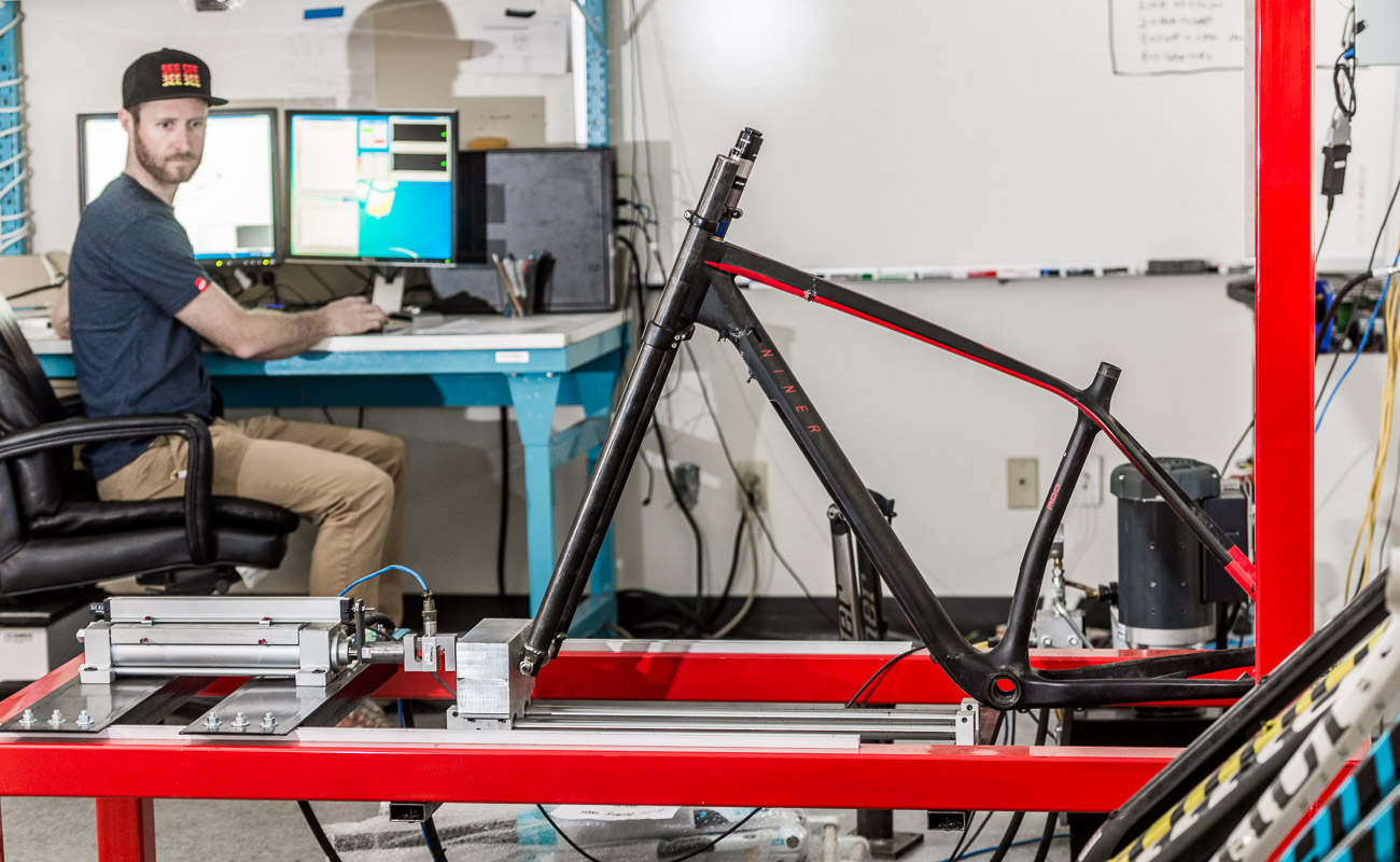 Niner Bike Stength Test