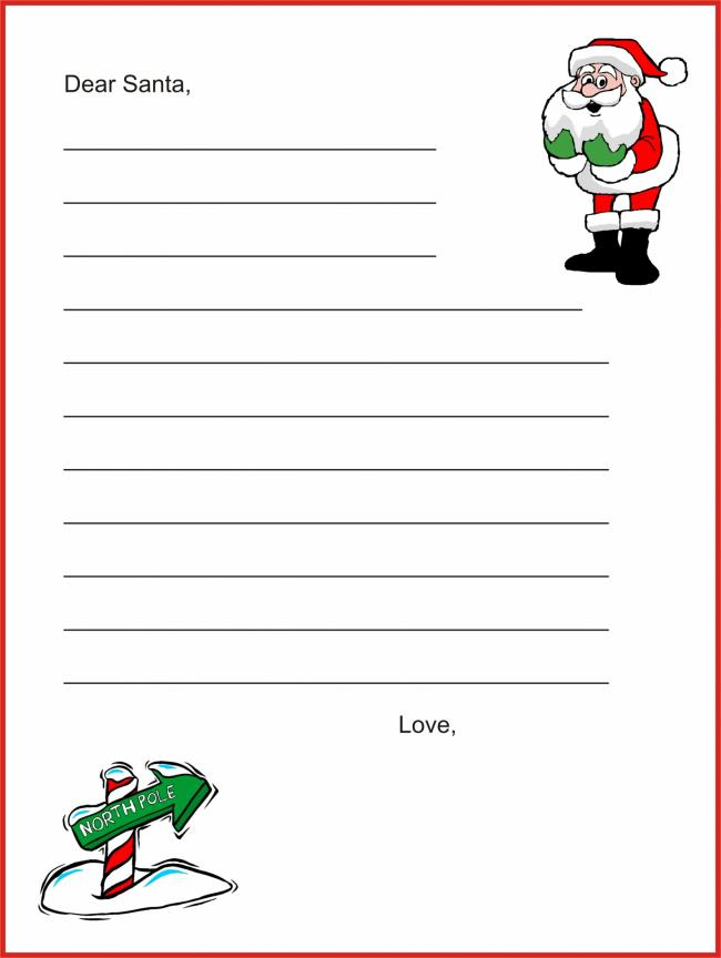 letters to santa the wooden horse