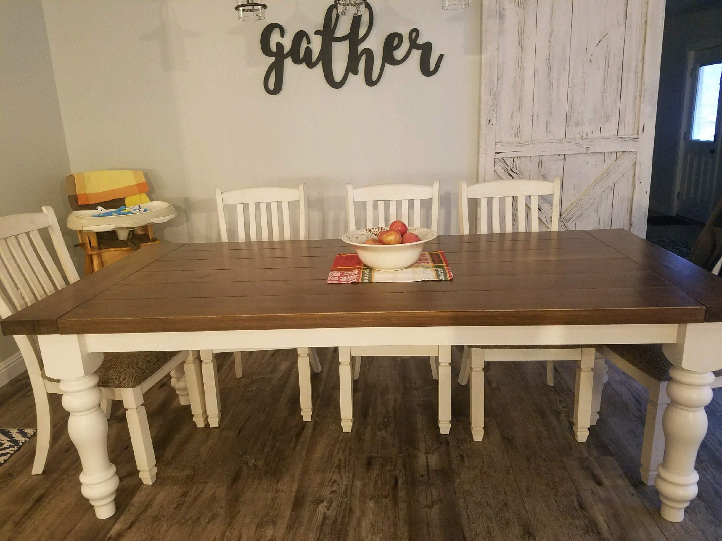 Butternut Farm Table