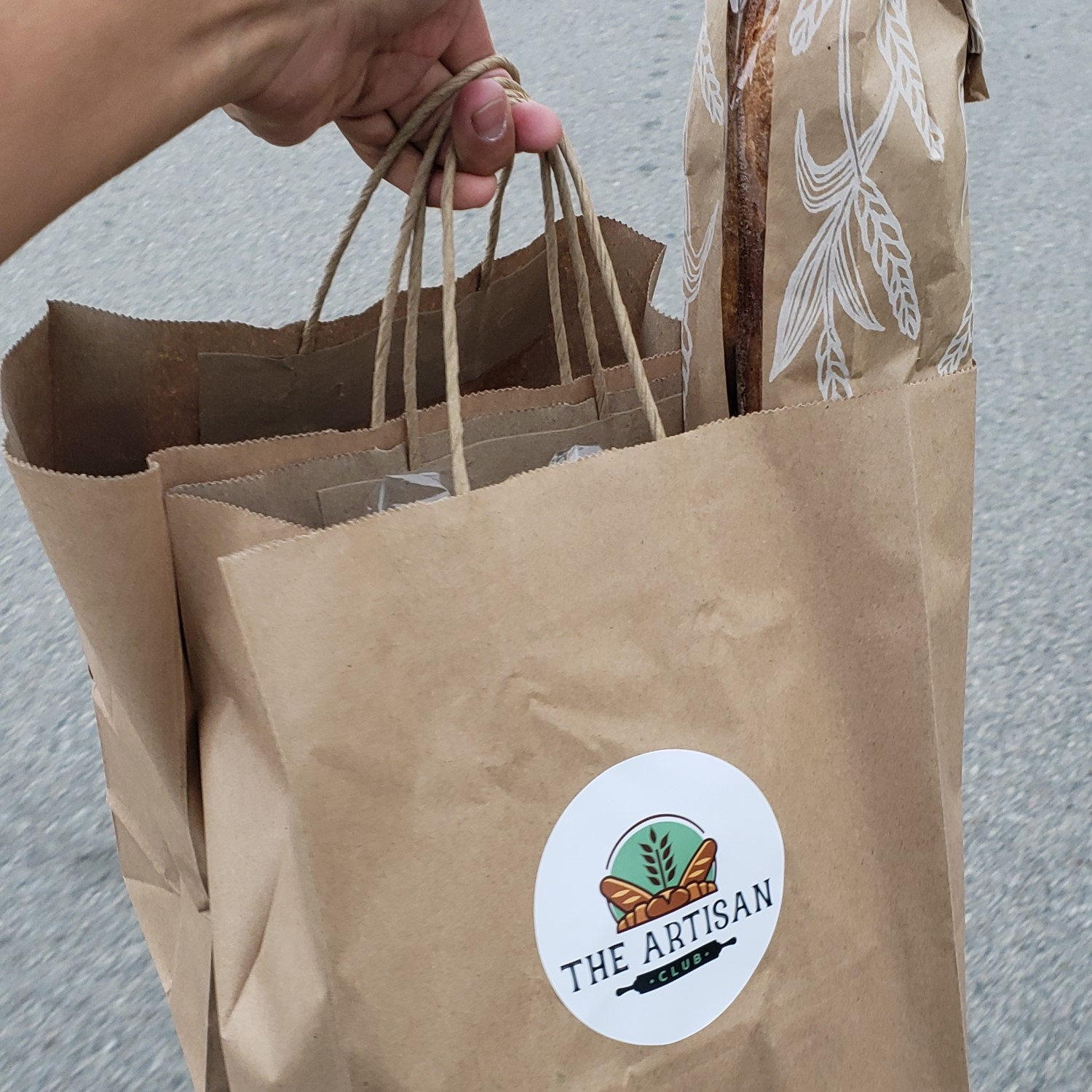 The Artisan Club bread delivery subscription