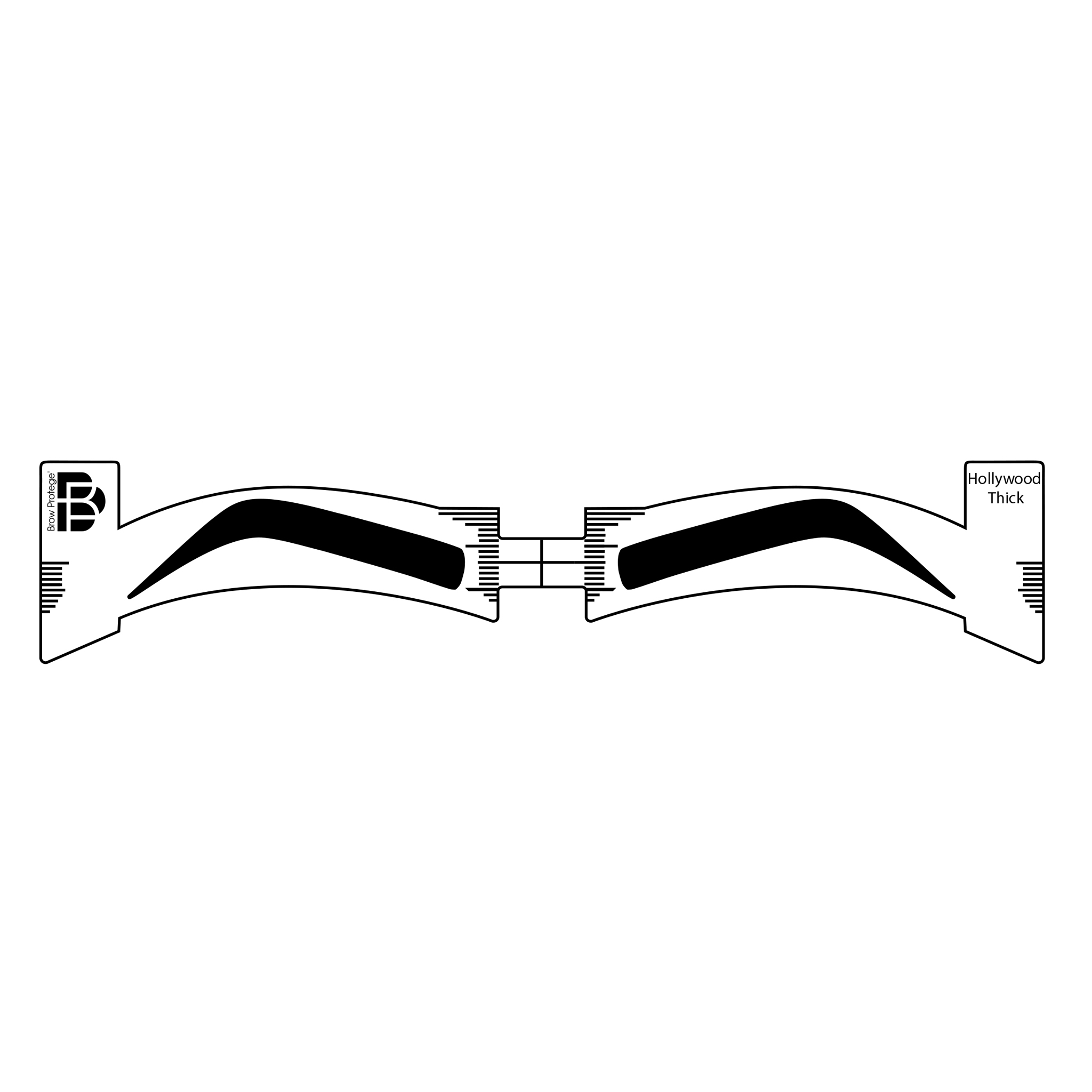 Brow Protege Eyebrow Stencils For The Professional Faux Features