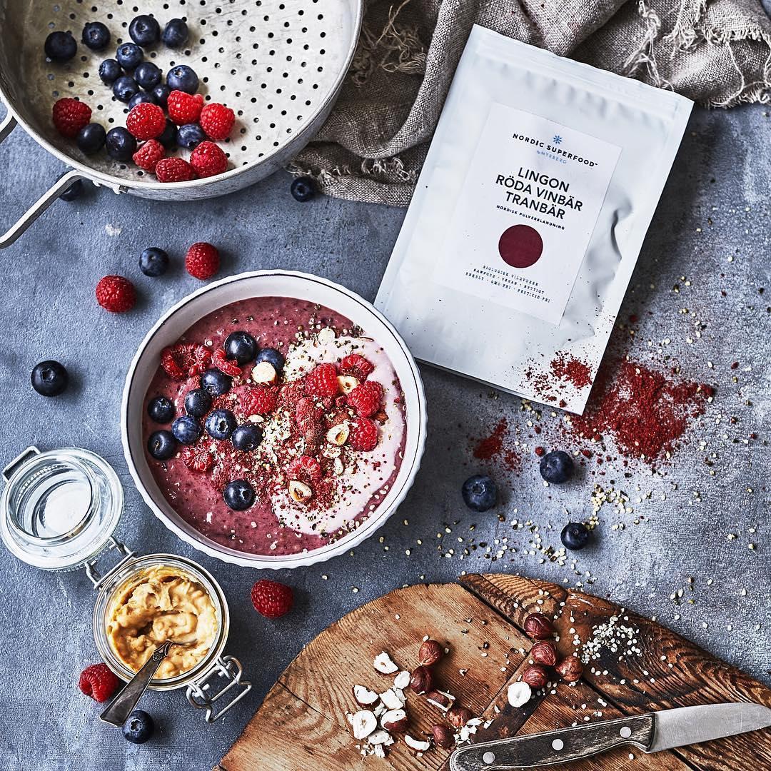 Nordic Superfood superbærpulver