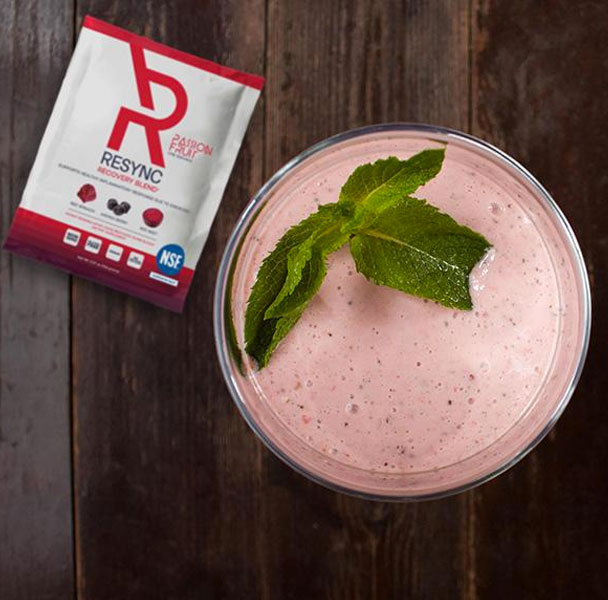Smoothie blended with Resync