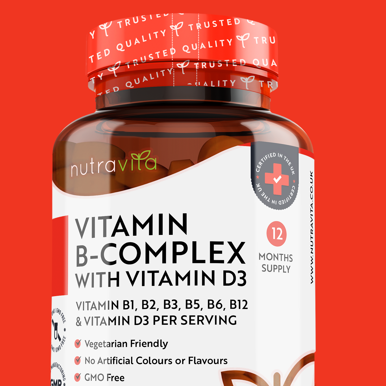 Nutravita Vitamin B Complex with Vitamin D