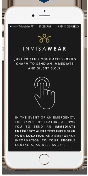 invisaWear Mobile App Screenshot