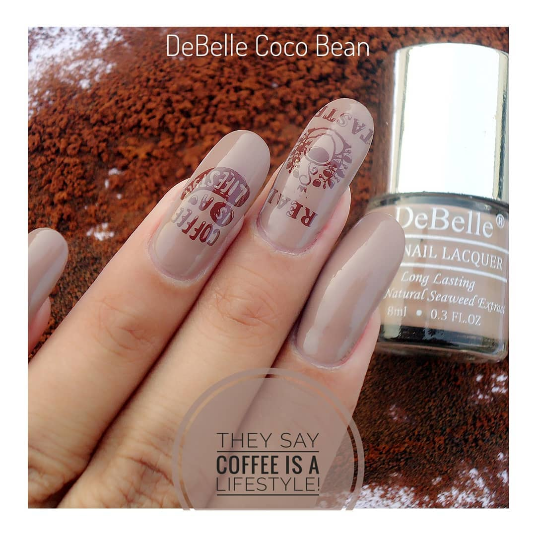 DeBelle Gel Nail Lacquer Coco Bean (Light Brown)