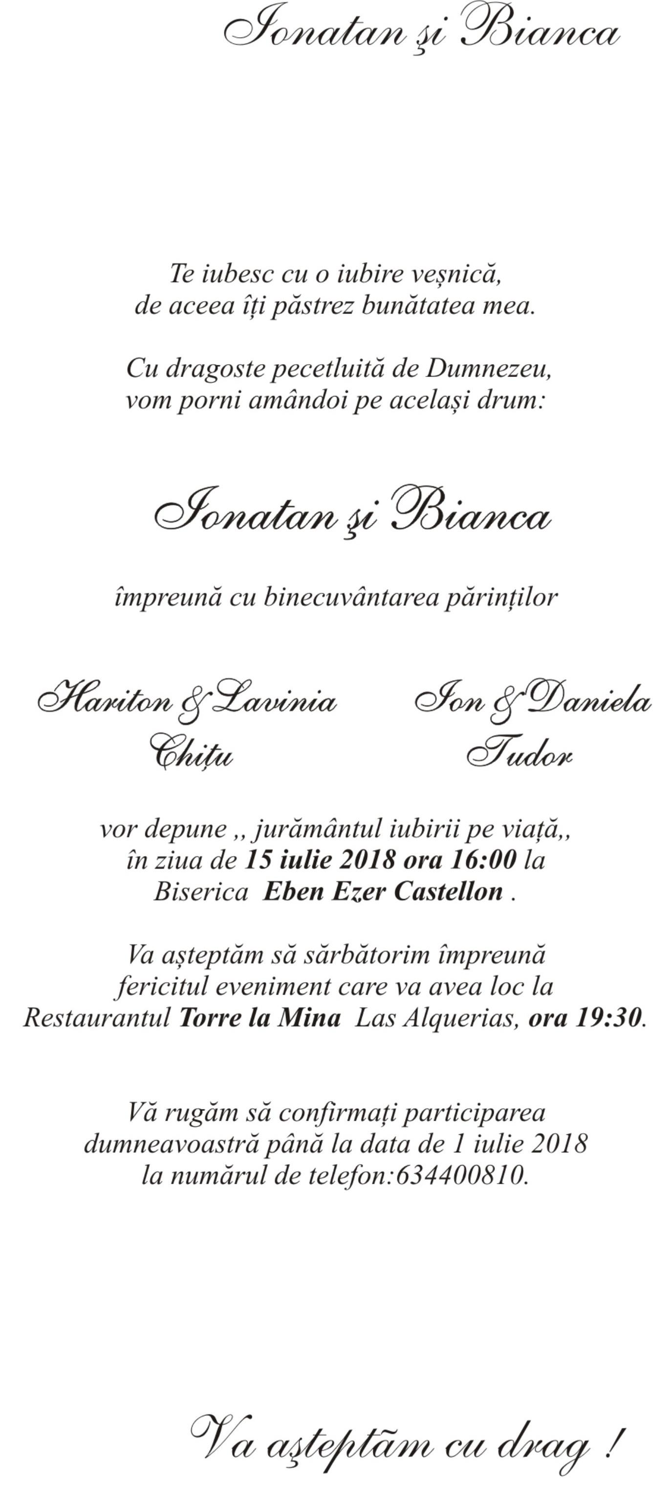 Invitatii Nunta Cu Livrare In 48 Ore Mirajul Nuntii