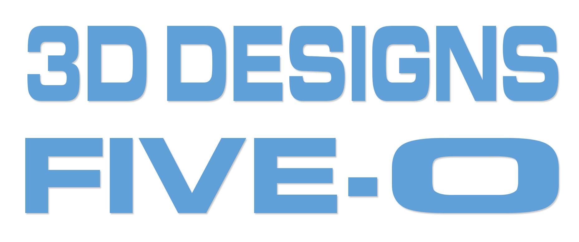 3D design challenge logo