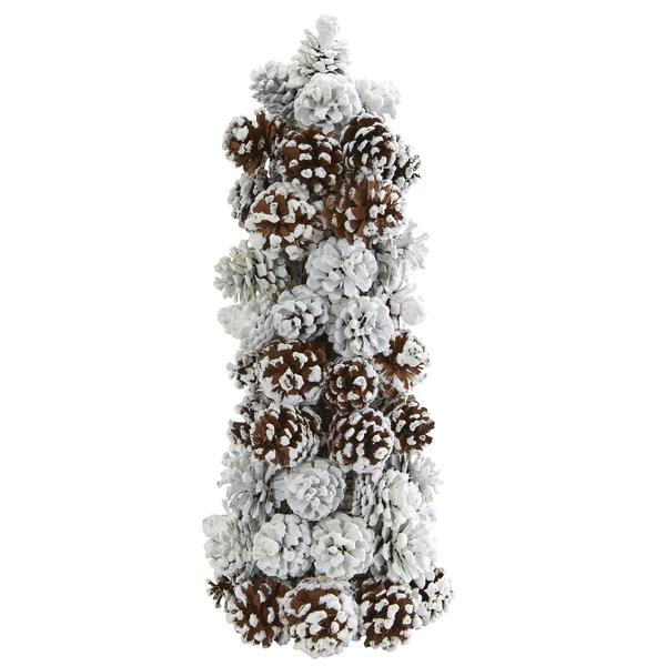 Sale Frosted Pine Cone Tree