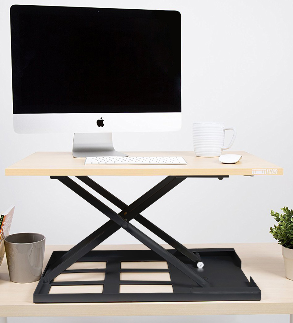 Maple Standing Desk Converter