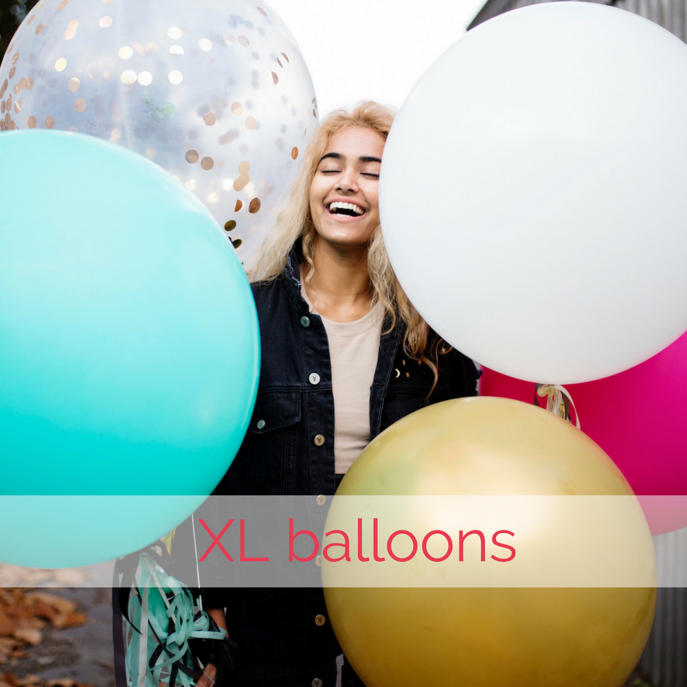 XL balloons by The Heyday Club