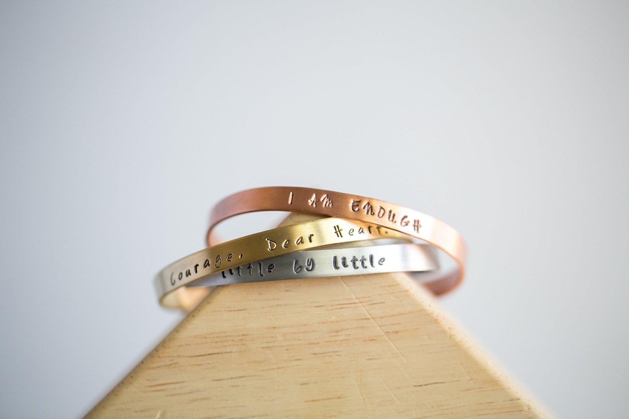 inspirational cuff bracelets