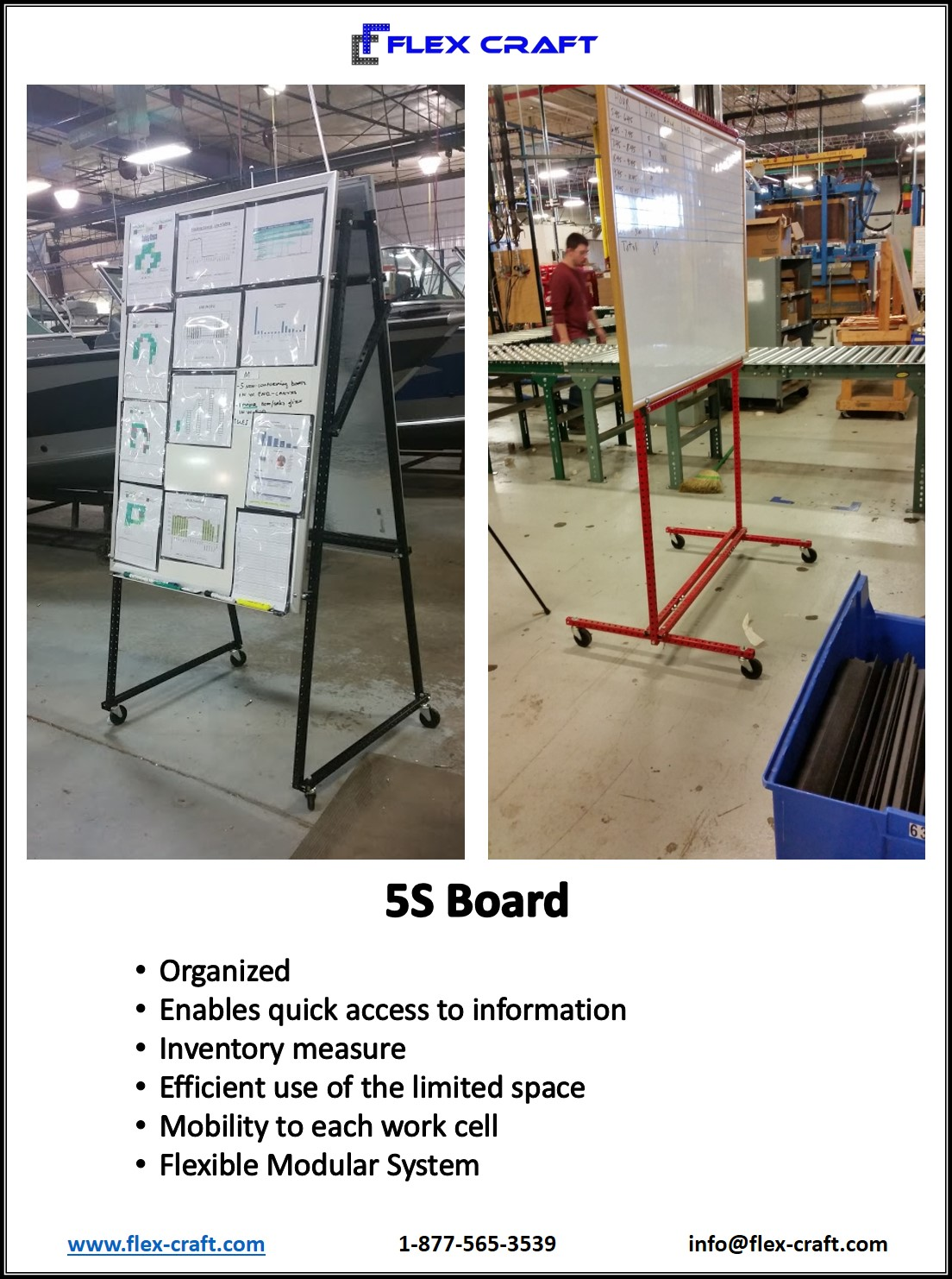 5S Boards White Boards