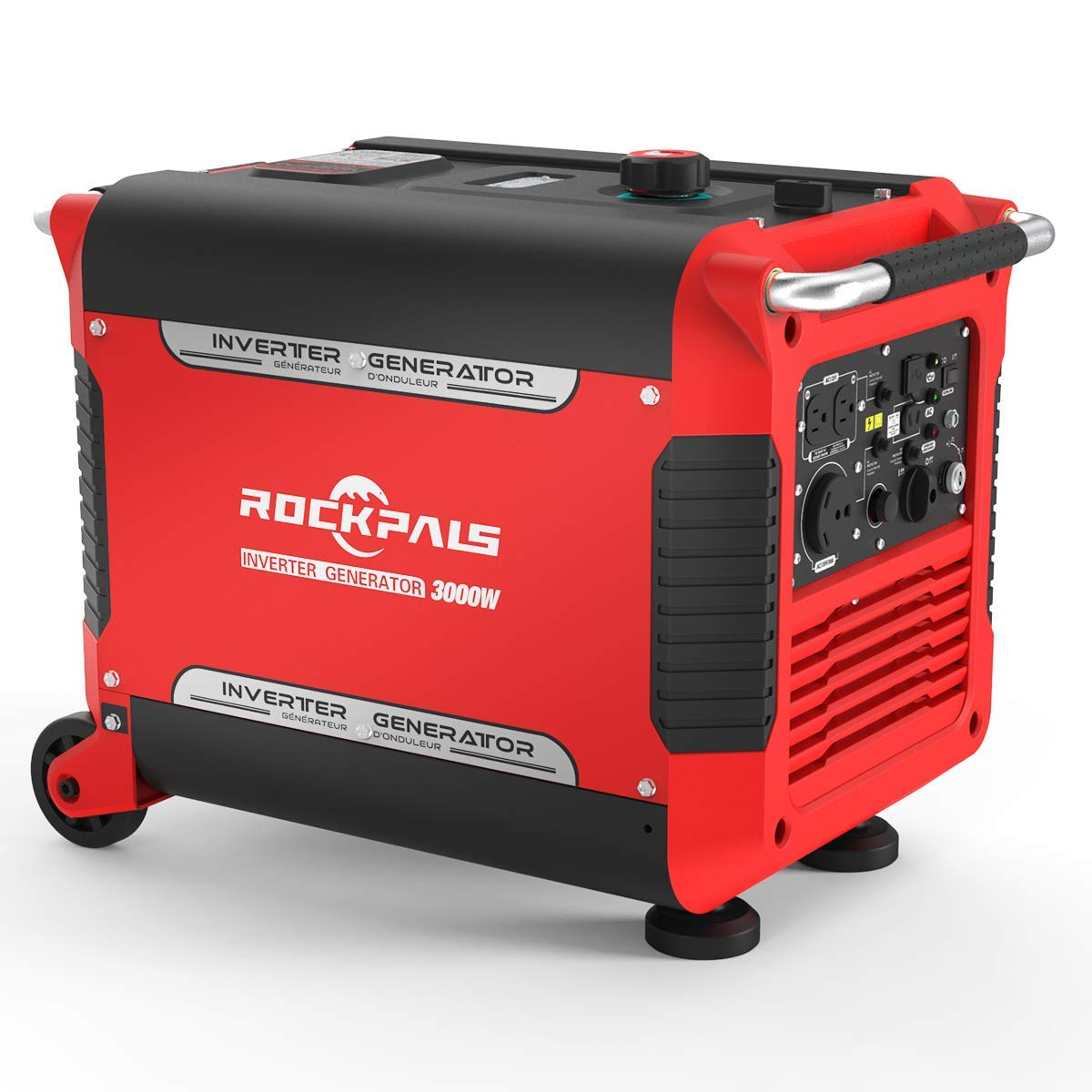 Rockpals 3000 Watt Rv Ready Portable Inverter Generator With Electric How Does An Work Previous