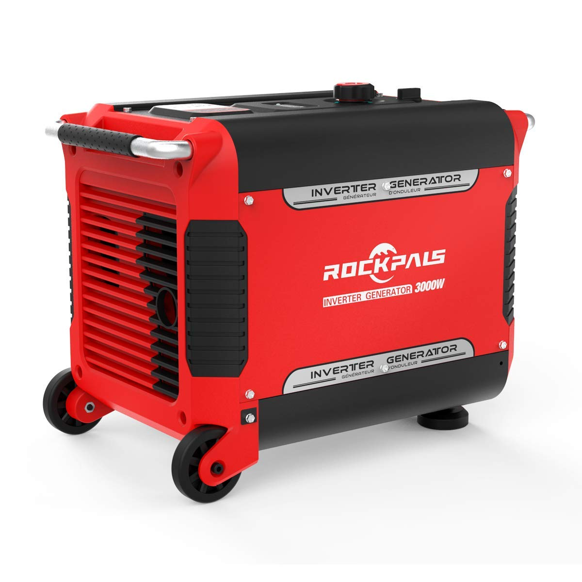 Rockpals 3000 Watt RV Ready Portable Inverter Generator With Electric Start