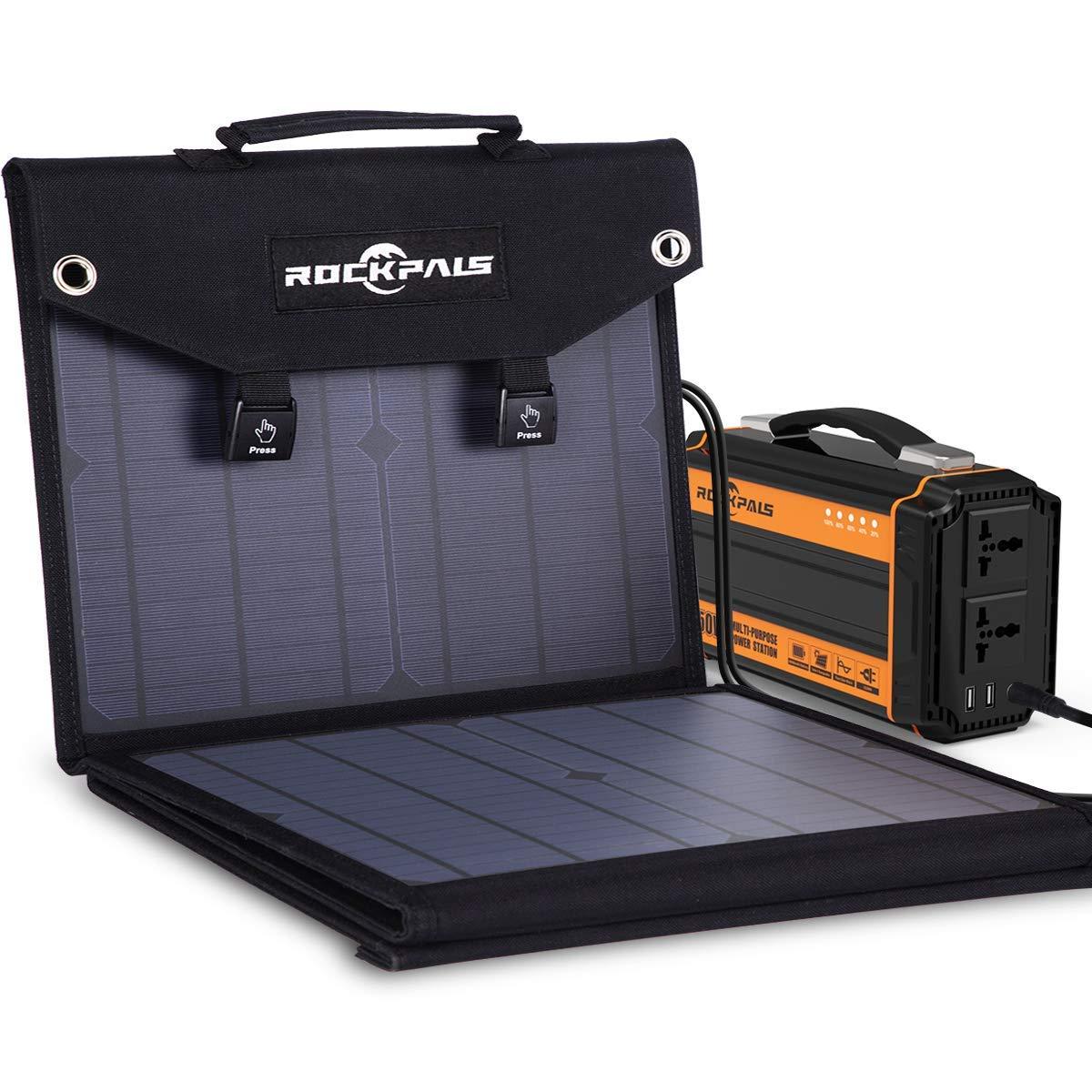 RV Solar Panels|Camping Solar Panels|solar panel kits|Rockpals 100W