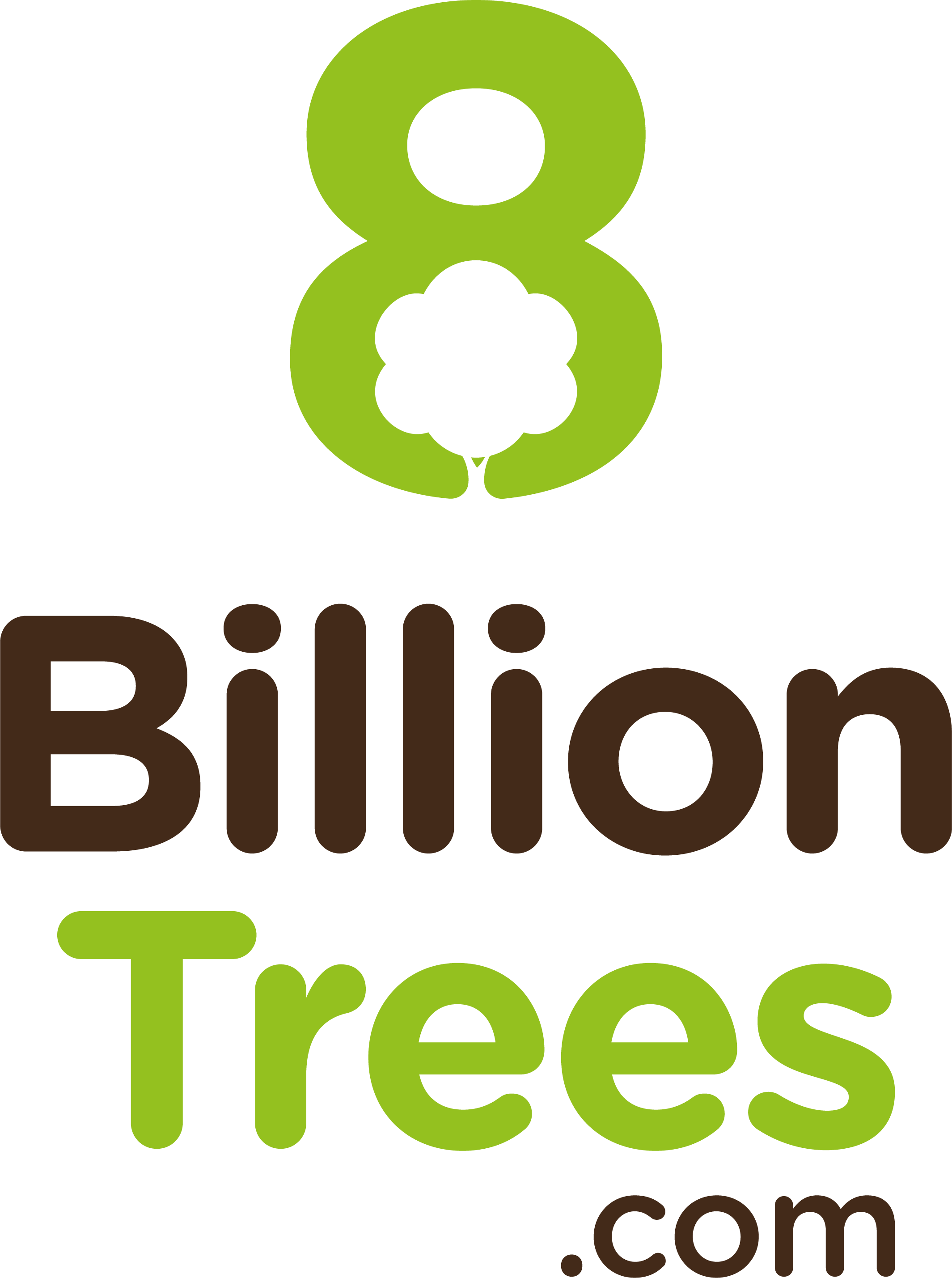 8 Billion Trees logo