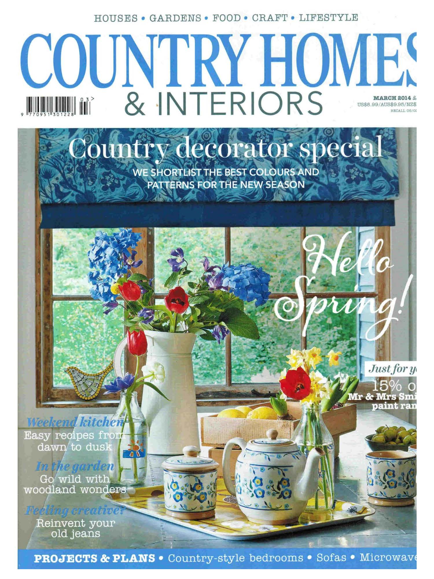 country homes, interiors, dog, dogs, style, magazine, press, editorial