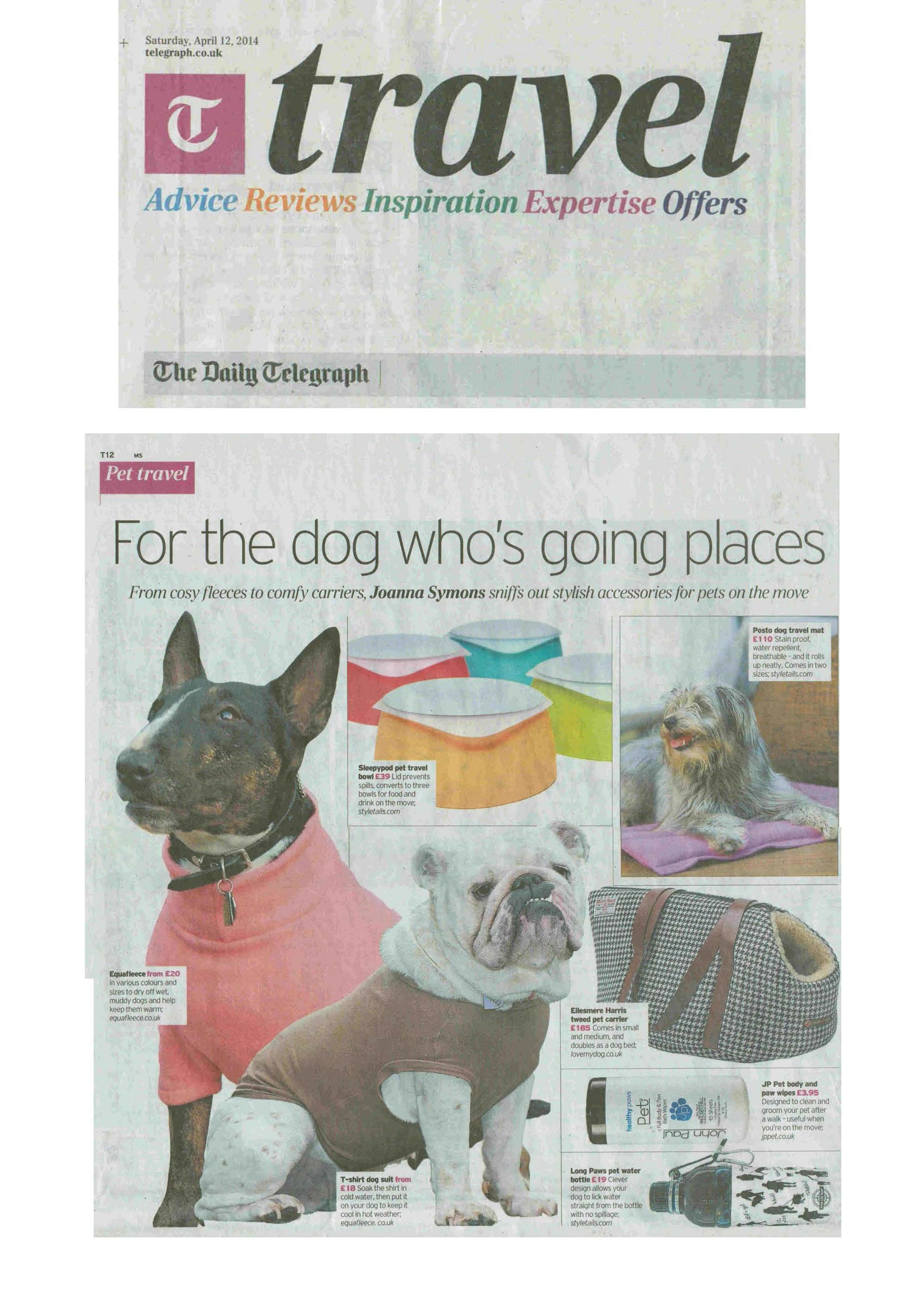 dog, dogs, style, magazine, press, editorial, times, sunday times, travel