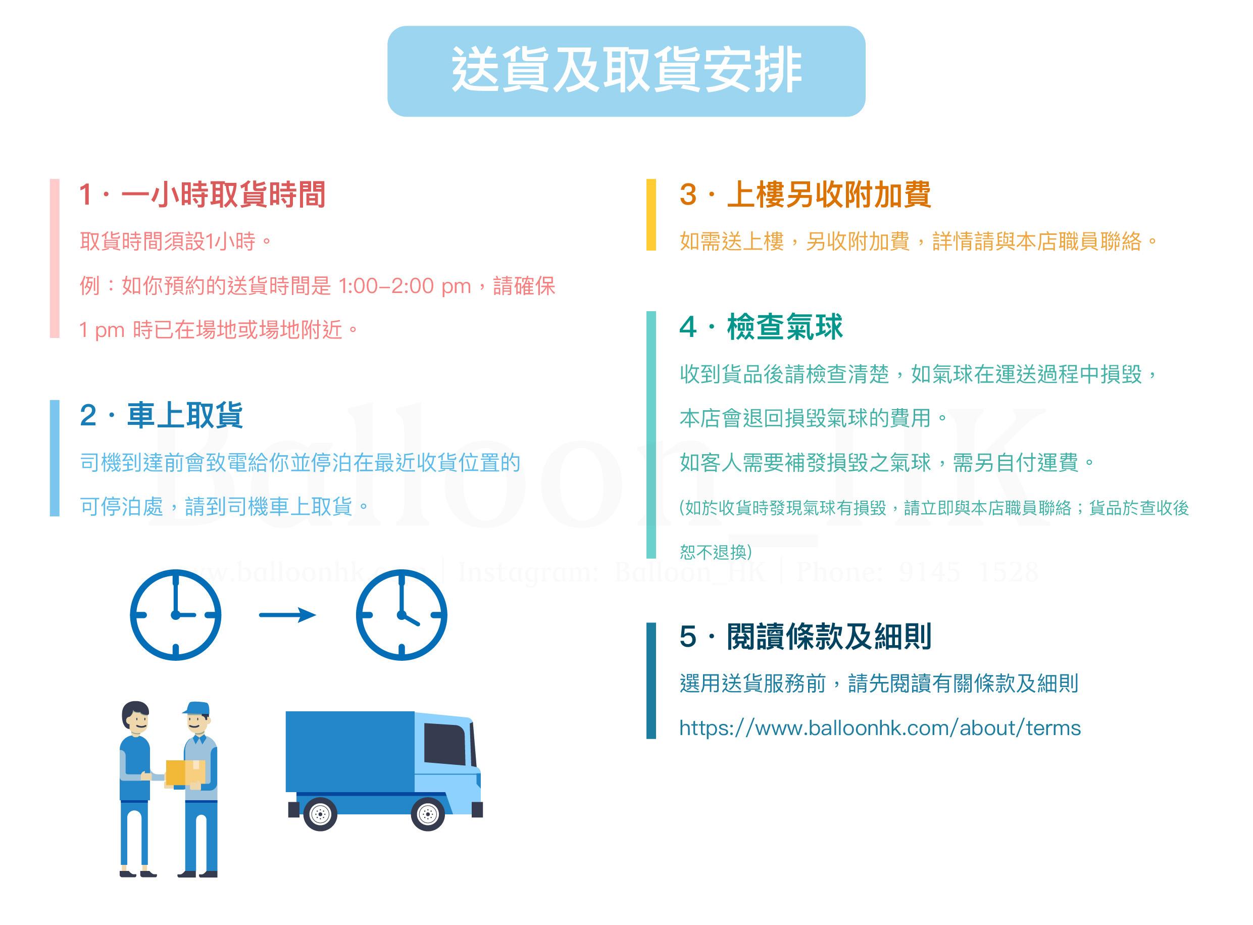 送貨及取貨安排