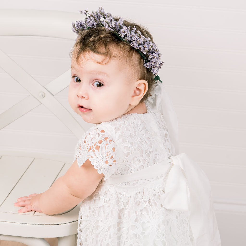 All our Baptism Dresses are handmade