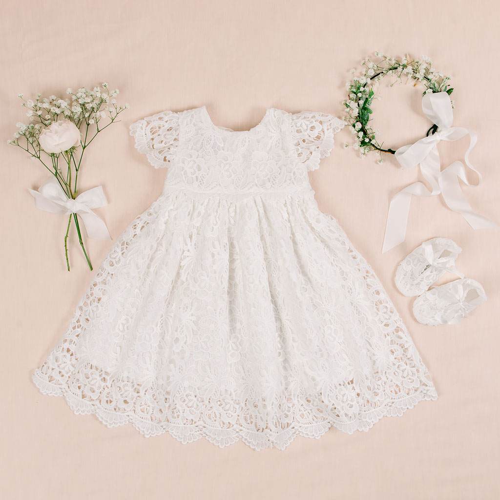 Lola Girls Christening Dress Collection
