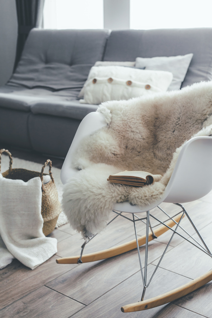 Sheepskin Hygge Home Interiors