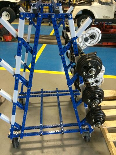 A Frame Cantilever Cart