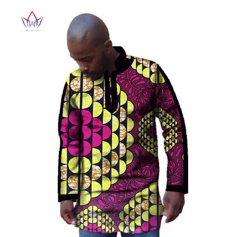 South African Attire Men Sunrise shirt