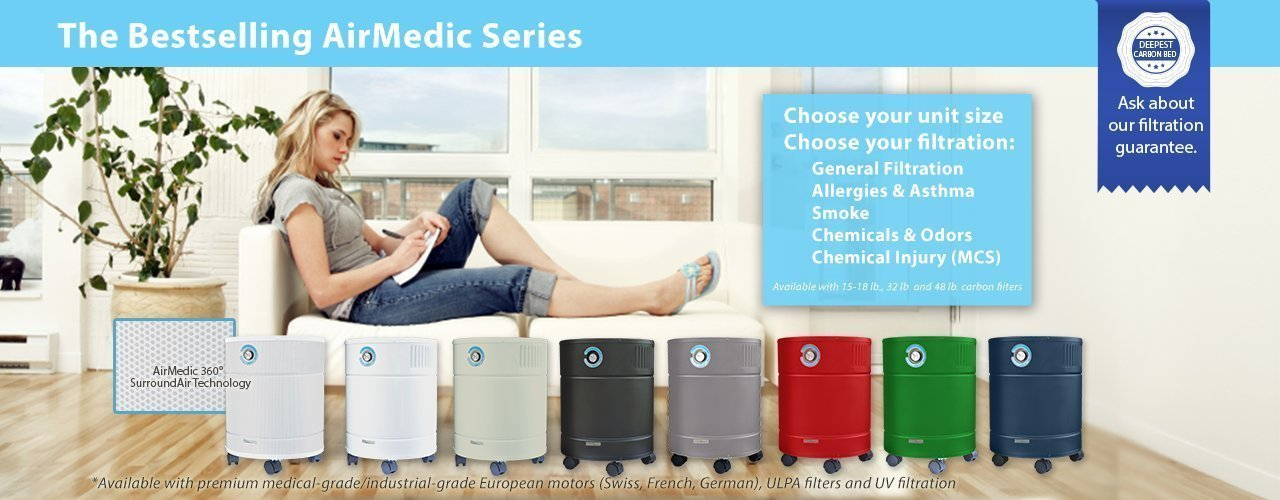 Airmedic Pro 5 Series Air Purifiers Allerair