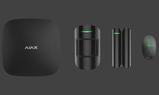 SouSec Ajax Hälytysjärjestelmä Musta