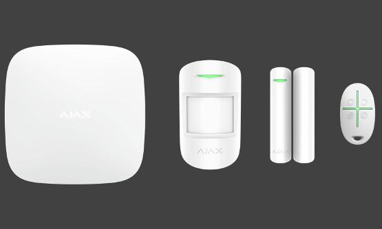 SouSec Ajax Hälytysjärjestelmä Valkoinen