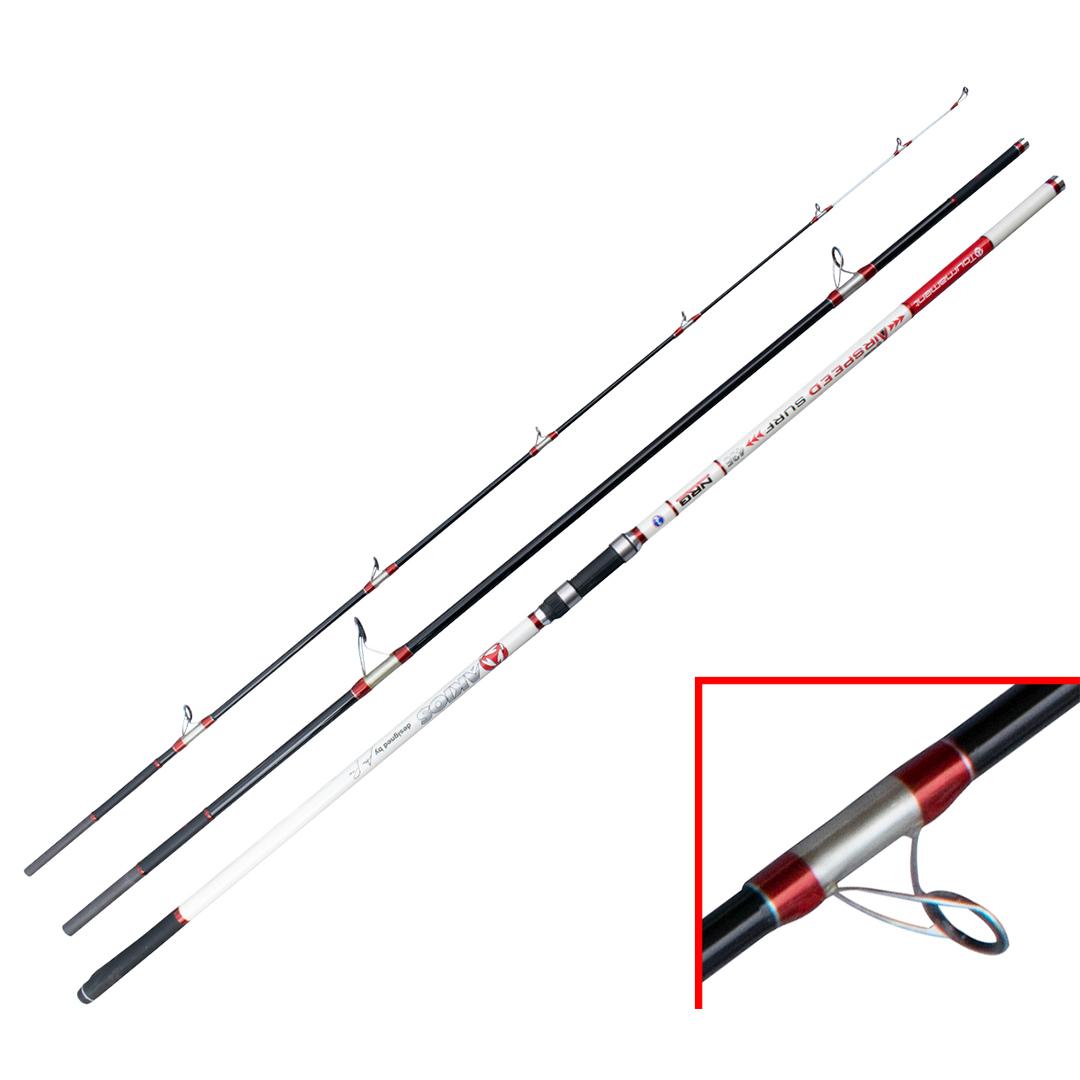 Akios Airspeed Surf 435 Continental Surf Rod