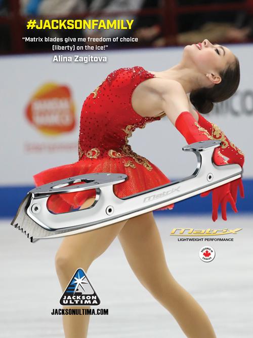 #JacksonFamily Alina Zagitova