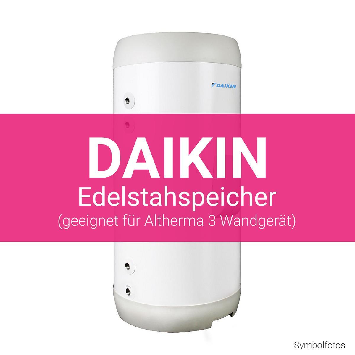 Daikin Edelstahlspeicher Altherma 3 Wandgerät