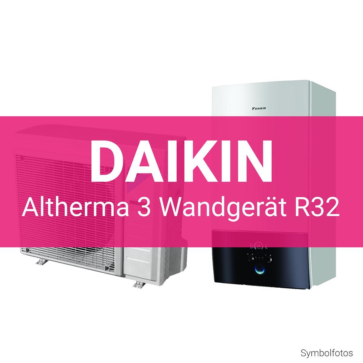 Daikin Altherma 3 Wandgerät R32