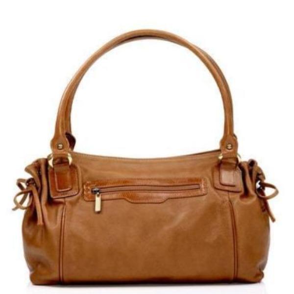 Zella Ash - Amada, Cocker Brown Soft Leather Handbag