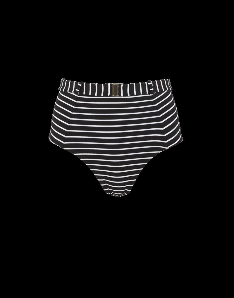 Amaio Fleur Stripe High wasit bikini bottom