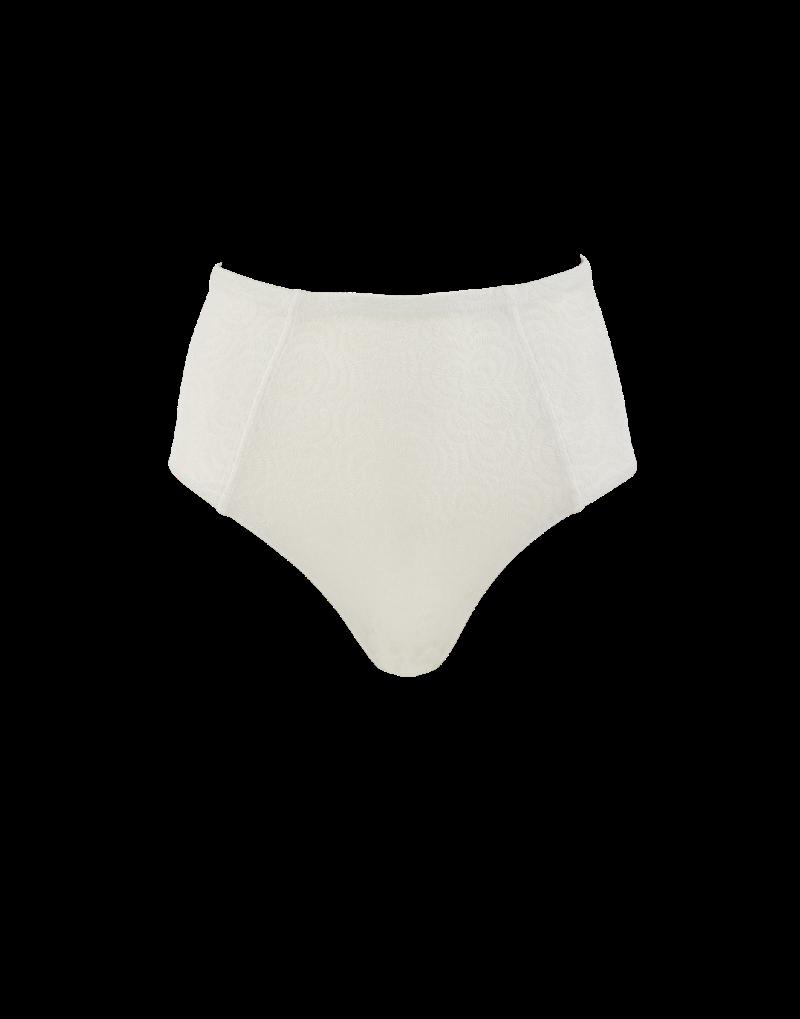 Amaio Joile High waist bikini bottom in ivory